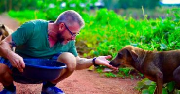 Люди считают собак проблемой! А этот мужчина прокормил уже 1000 питомцев...
