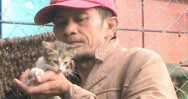 """""""Их жизнь зависит от нас..."""" Мужчина из Индонезии кормил бездомных котов на последние деньги, но вскоре ему на помощь пришли... ангелы!"""
